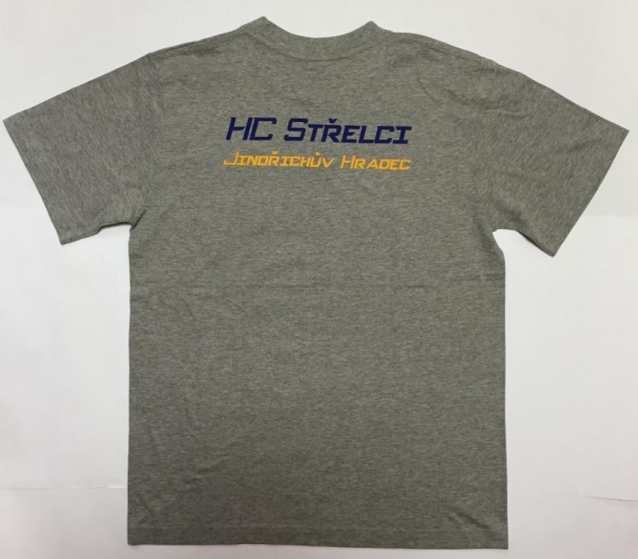 Tričko pánské s krátkým rukávem - HC Střelci J. Hradec 4f2b77c54c
